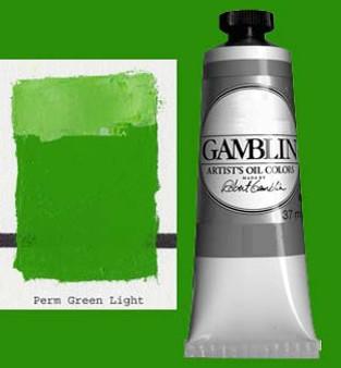 Gamblin Artists Oil Color 37ml Series 2: Permanent Green Light