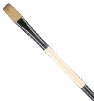 Black Gold Long-Handle Flat 12