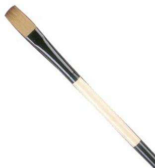 Black Gold Long-Handle Flat 6
