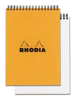 Rhodia Wire Topbound 6x8.25 Grid