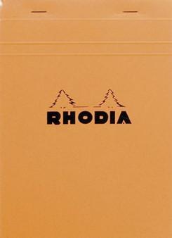 Rhodia Classic Stapled Topbound 6x8.25 Lined W/Margin