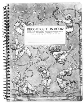 Michael Roger Press Decomposition Notebook Coilbound Ruled Deep Stretch