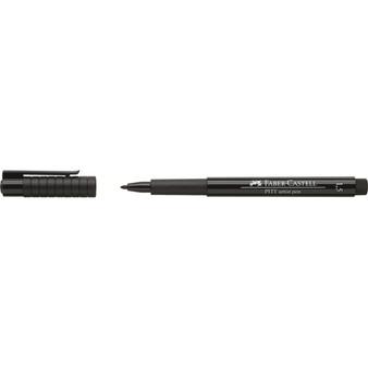 Faber-Castell Pitt Artist Pen Black Bullet Tip 1.5