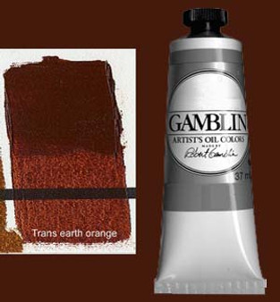 Gamblin Artists Oil Color 37ml Series 3: Transparent Earth Orange