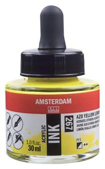 Amsterdam Acrylic Ink 30ml Bottle Azo Yellow Lemon