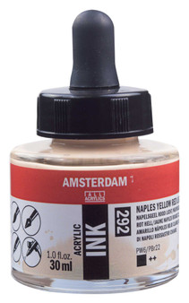 Amsterdam Acrylic Ink 30ml Bottle Naples Yellow Red Light