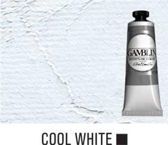 Gamblin Artists Oil Color 37ml Series 1:Cool White