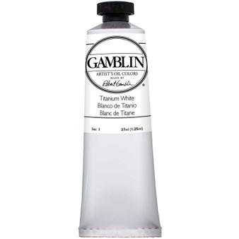 Gamblin Artists Oil Color 37ml Series 1: Titanium White