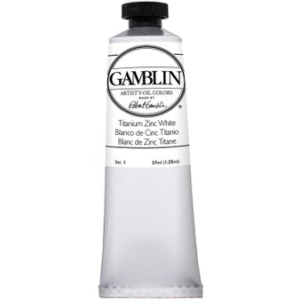 Gamblin Artists Oil Color 37ml Series 1: Titanium-Zinc White