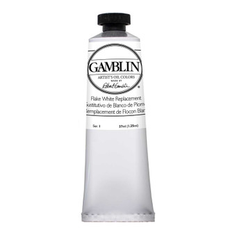 Gamblin Artists Oil Color 37ml Series 1: Flake White Replacement