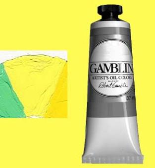 Gamblin Artists Oil Color 37ml Series 2: Radiant Lemon