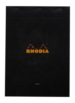 Rhodia Classic Staplebound Notepad 8x11.75 Lined