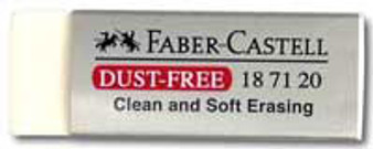 Faber-Castell White Dust Free Eraser
