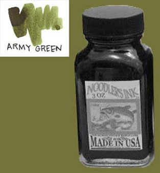 Noodlers Ink 3oz Army Green