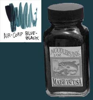 Noodlers Ink 3oz Aircorp Blue-Black