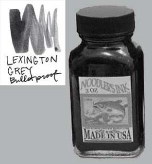 Noodlers Ink 3oz Bulletproof Lexington Grey