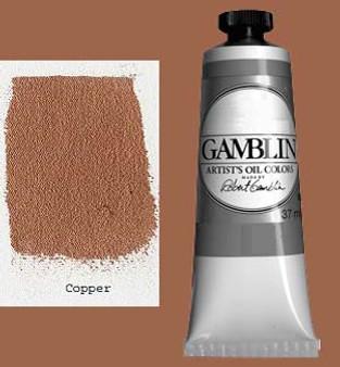 Gamblin Artists Oil Color 37ml Series 4: Copper