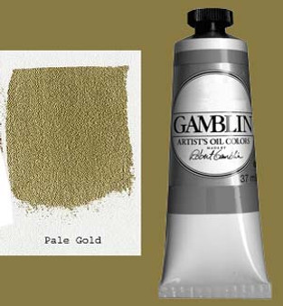 Gamblin Artists Oil Color 37ml Series 4: Pale Gold