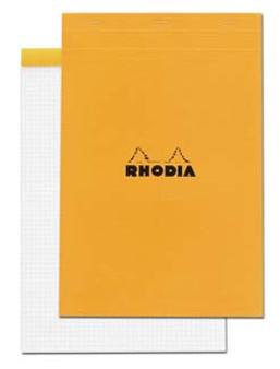 Rhodia Classic Stapled Topbound 8.25x12 Grid