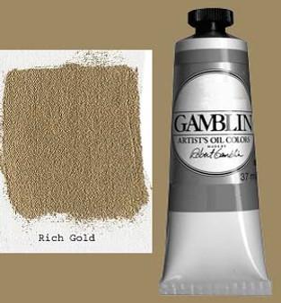 Gamblin Artists Oil Color 37ml Series 4: Rich Gold
