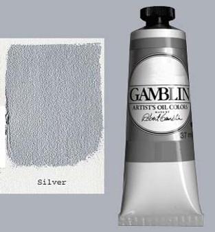 Gamblin Artists Oil Color 37ml Series 4: Silver