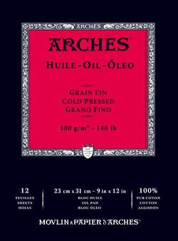 Arches Oil Bound Pad 9x12