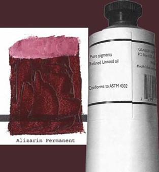 Gamblin Artists Oil Color 150ml Series 3: Permanent Alizarin Crimson