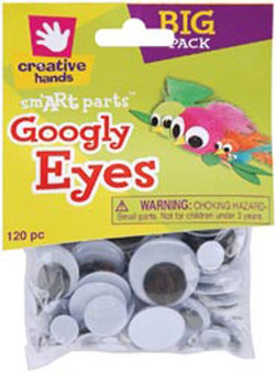 Googly Eyes 100pk Assorted