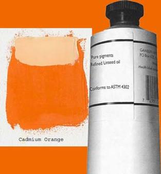 Gamblin Artists Oil Color 150ml Series 4: Cadmium Orange