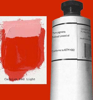 Gamblin Artists Oil Color 150ml Series 5: Cadmium Red Light