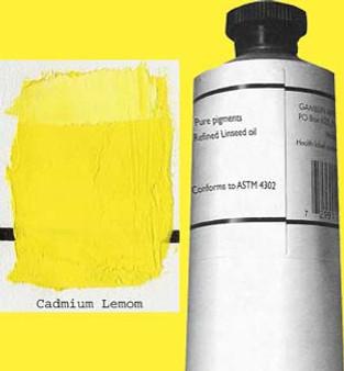 Gamblin Artists Oil Color 150ml Series 4: Cadmium Lemon