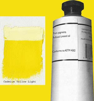 Gamblin Artists Oil Color 150ml Series 4: Cadmium Yellow Light