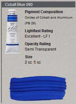 M. Graham Acrylic Series 5: 2oz Cobalt Blue