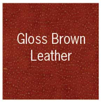 "Lineco Bookcloth 17x19"" Sheet Leather Gloss Brown"