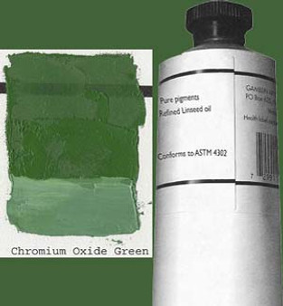 Gamblin Artists Oil Color 150ml Series 3: Chromium Oxide Green