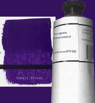 Gamblin Artists Oil Color 150ml Series 6: Cobalt Violet