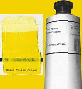 Gamblin Artists Oil Color 150ml Series 3: Hansa Yellow Medium