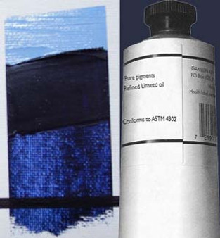 Gamblin Artists Oil Color 150ml Series 3: Indanthrene Blue