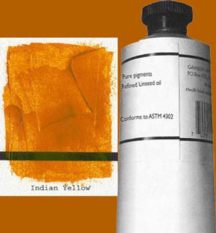 Gamblin Artists Oil Color 150ml Series 3: India Yellow
