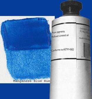Gamblin Artists Oil Color 150ml Series 2: Manganese Blue Hue