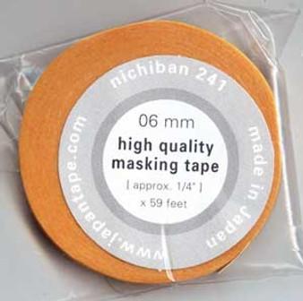 Nichiban Artists Tape #241 (6mm 1/4-Inch x 59 feet)