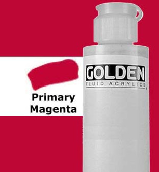Golden Artist Colors Fluid Acrylic: 4oz Primary Magenta