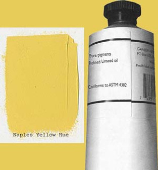 Gamblin Artists Oil Color 150ml Series 2: Naples Yellow Hue