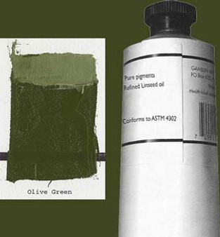 Gamblin Artists Oil Color 150ml Series 2: Olive Green