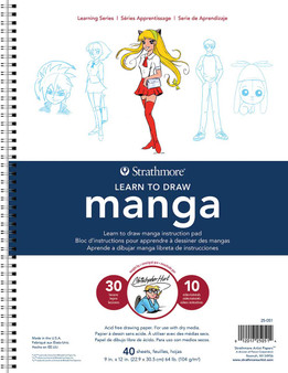 Strathmore Learning Series 9x12 Learn to Draw Manga with Christopher Hart