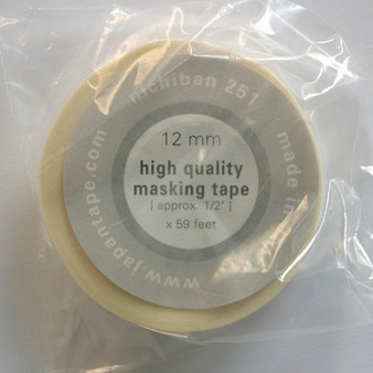 Nichiban Artists Tape #251 12mm 1/2-Inchx59