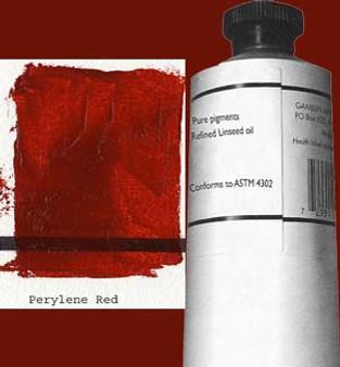 Gamblin Artists Oil Color 150ml Series 3: Perylene Red