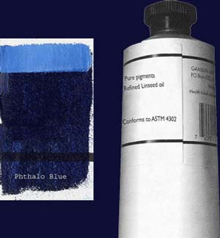 Gamblin Artists Oil Color 150ml Series 2: Phthalo Blue