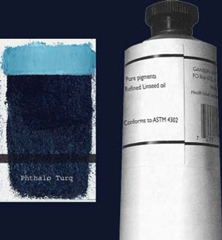 Gamblin Artists Oil Color 150ml Series 2: Phthalo Turquoise