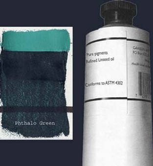 Gamblin Artists Oil Color 150ml Series 2: Phthalo Green